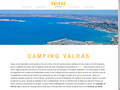 Détails : camping valras